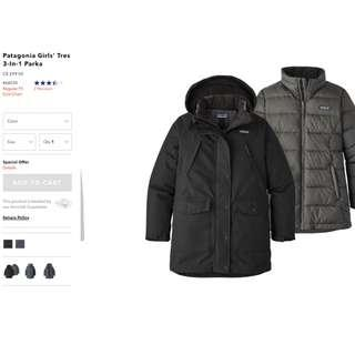 Patagonia Parka (New with tags!)