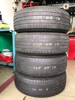 Used Tayar 225/65R17 4pcs RM300