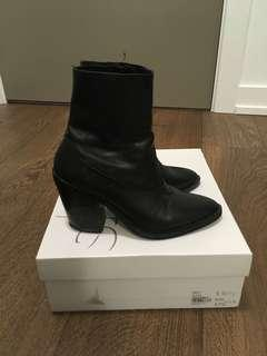 Topshop leather boots size 7