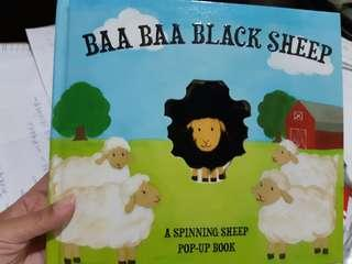 🚚 BAA BAA BLACK SHEEP英文童書