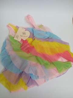 Tutu Dress Rainbow