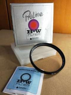 Authentic B+W Multi-Resistant UV Filter 72mm