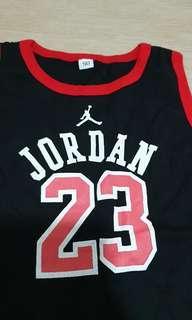 Baby basketball Jordan 23 onesie