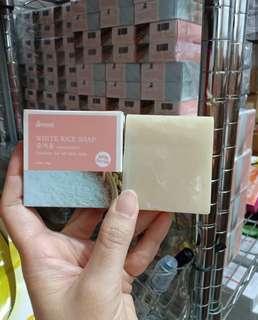 HANASUI WHITE RICE SOAP / SABUN BERAS