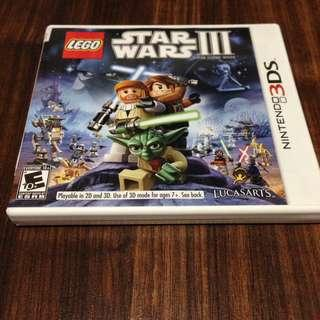 Nintendo 3DS Star Wars 3 The Clone Wars