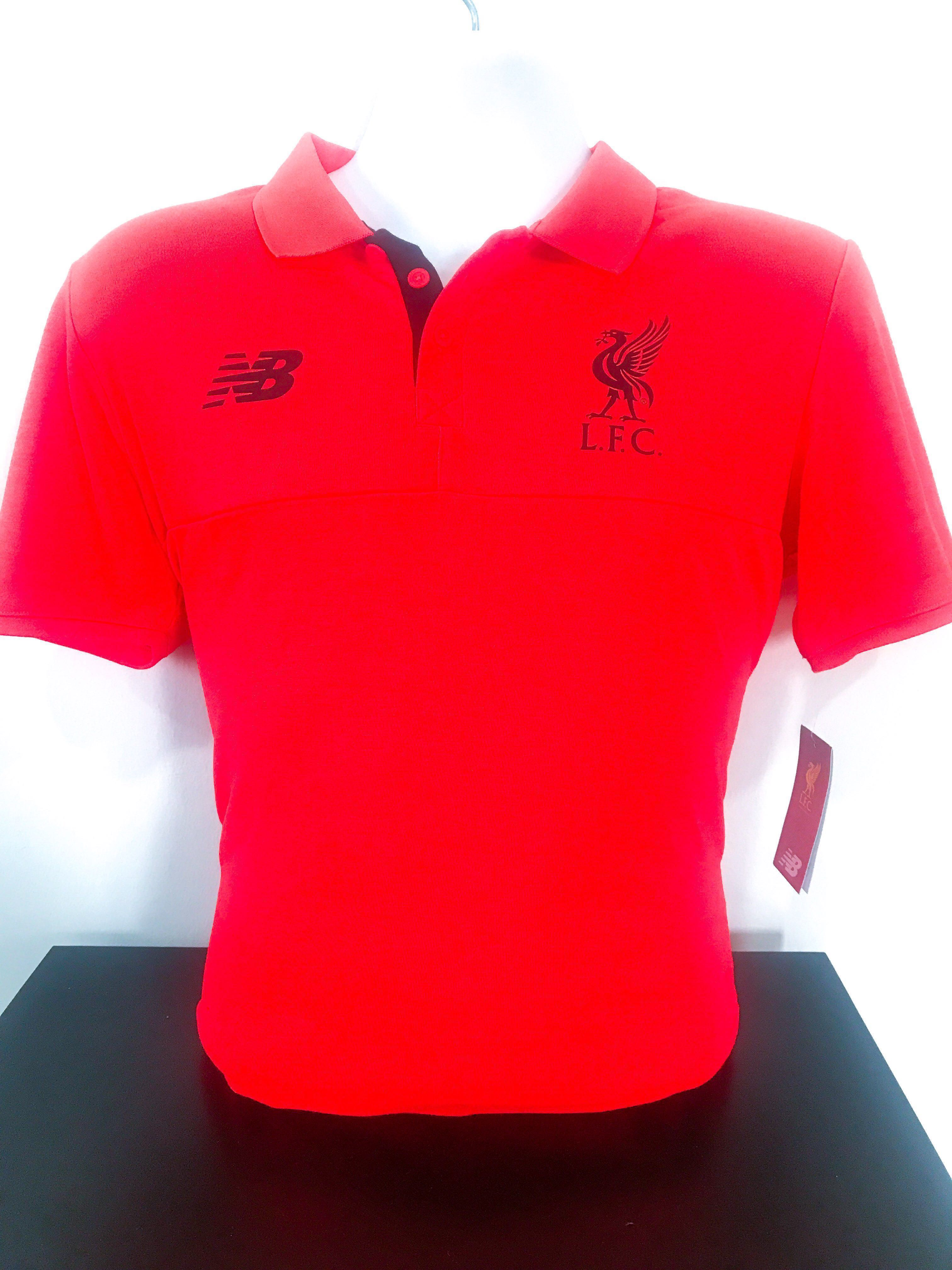 b9fddf9f3 🆕 Authentic Liverpool FC Polo Tee, Sports, Sports Apparel on Carousell