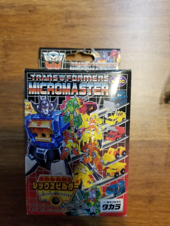 變形金剛 micromaster 盒蛋 可合體 共6隻