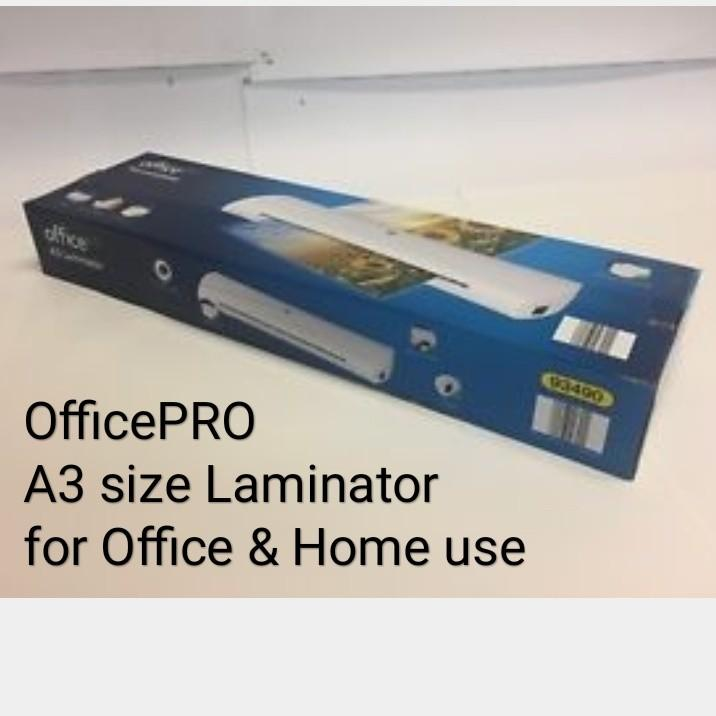 Officepro A3 laminator model OL-350 hot & cold lamination