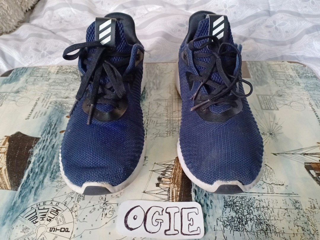size 40 06d88 07bb0 Adidas Alphabounce Navy Blue, Mens Fashion, Footwear, Sneakers on Carousell