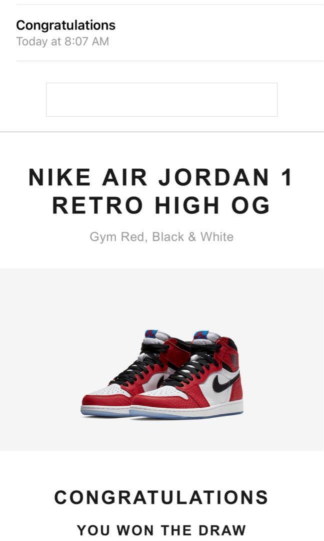 Air Jordan Retro High OG 1 d7bd3f575