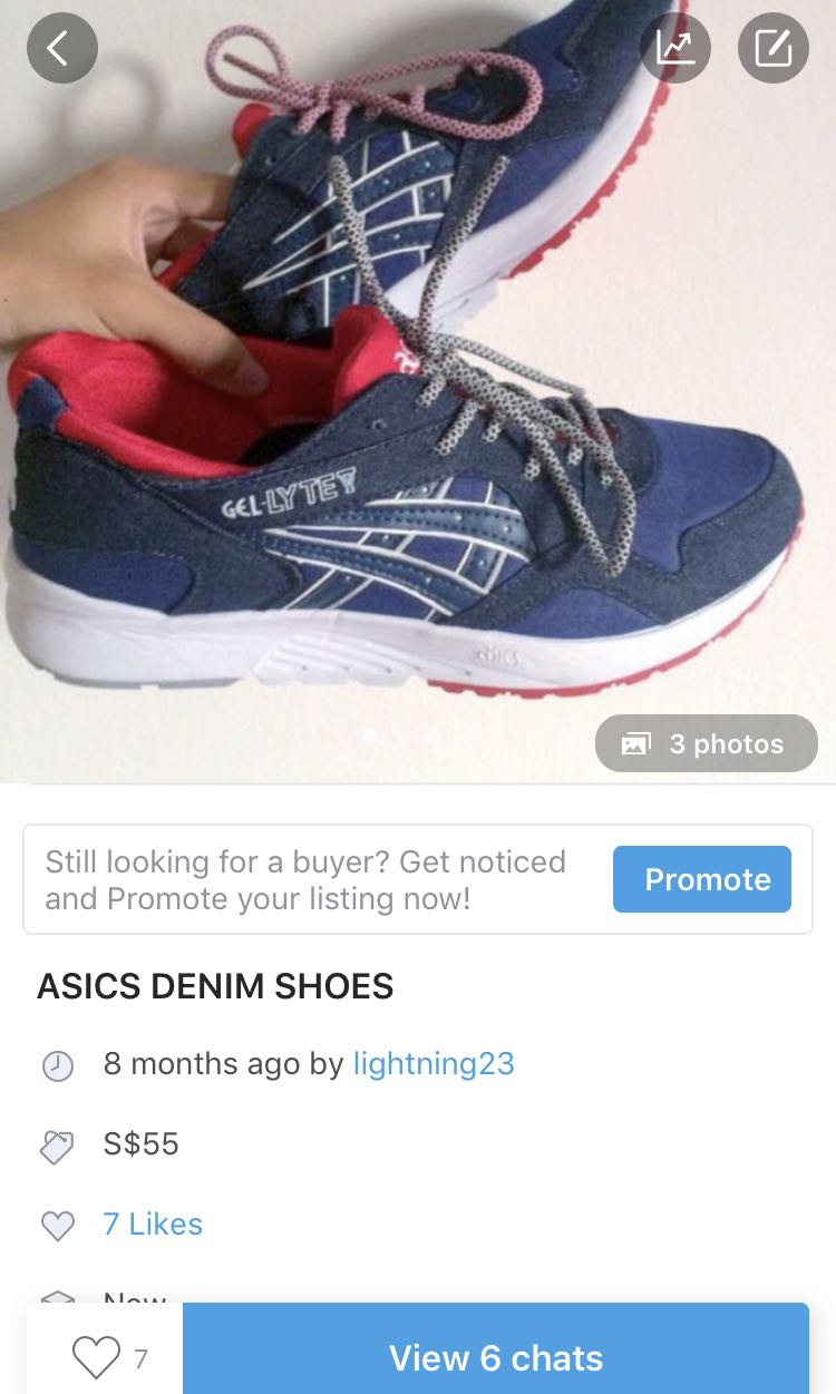 668a07f1aec asics shoes, Men's Fashion, Footwear, Sneakers on Carousell