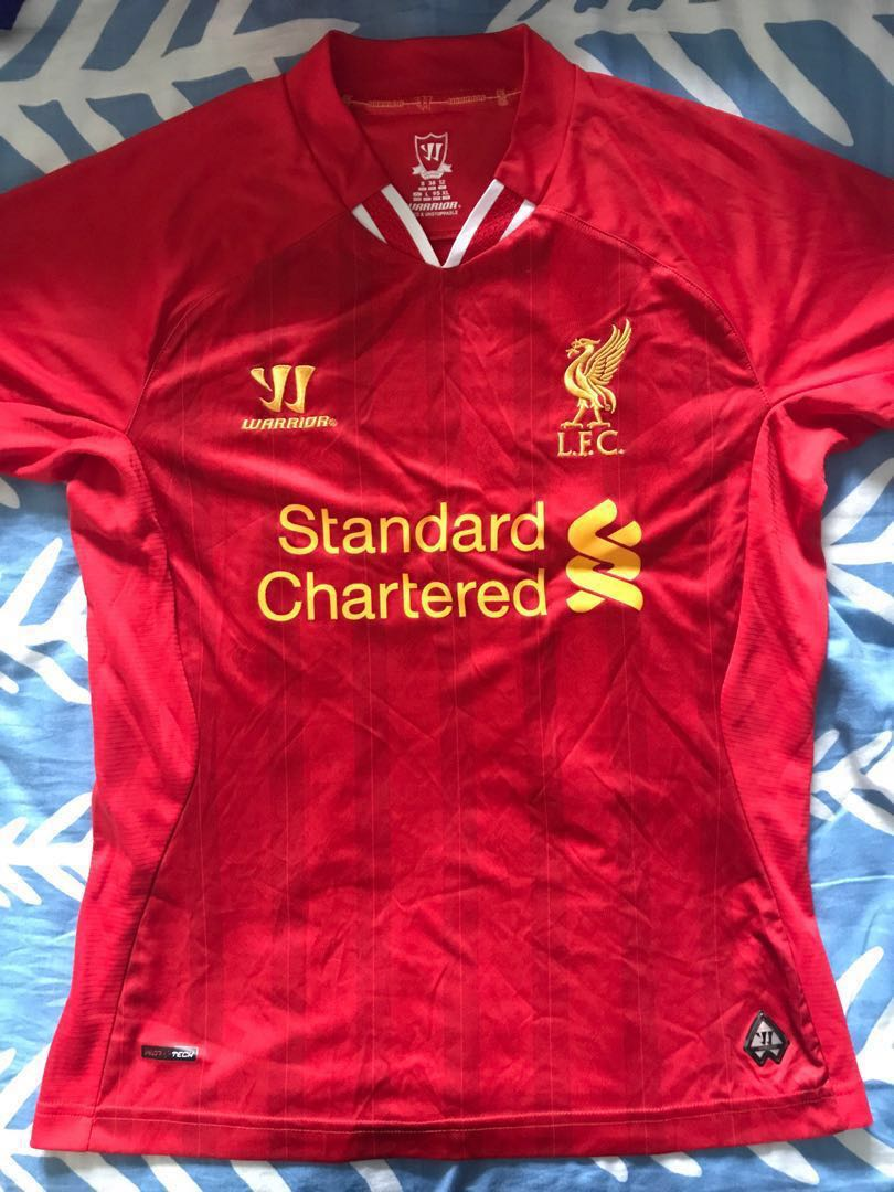 bea424277 AUTHENTIC  Liverpool FC 13 14 Ladies Jersey