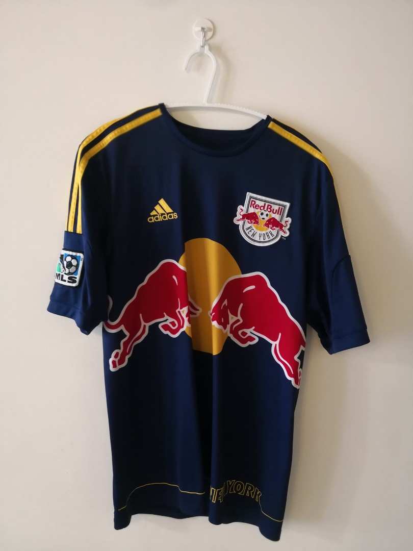 wholesale dealer d19bf fe4dd Authentic New York Red Bulls Jersey Size S