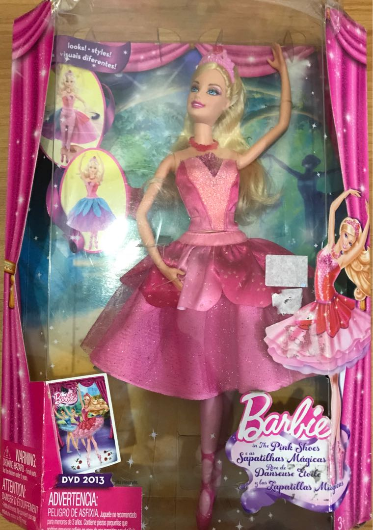 6048059b5f128 Barbie in Pink Shoes, Toys & Games, Toys on Carousell