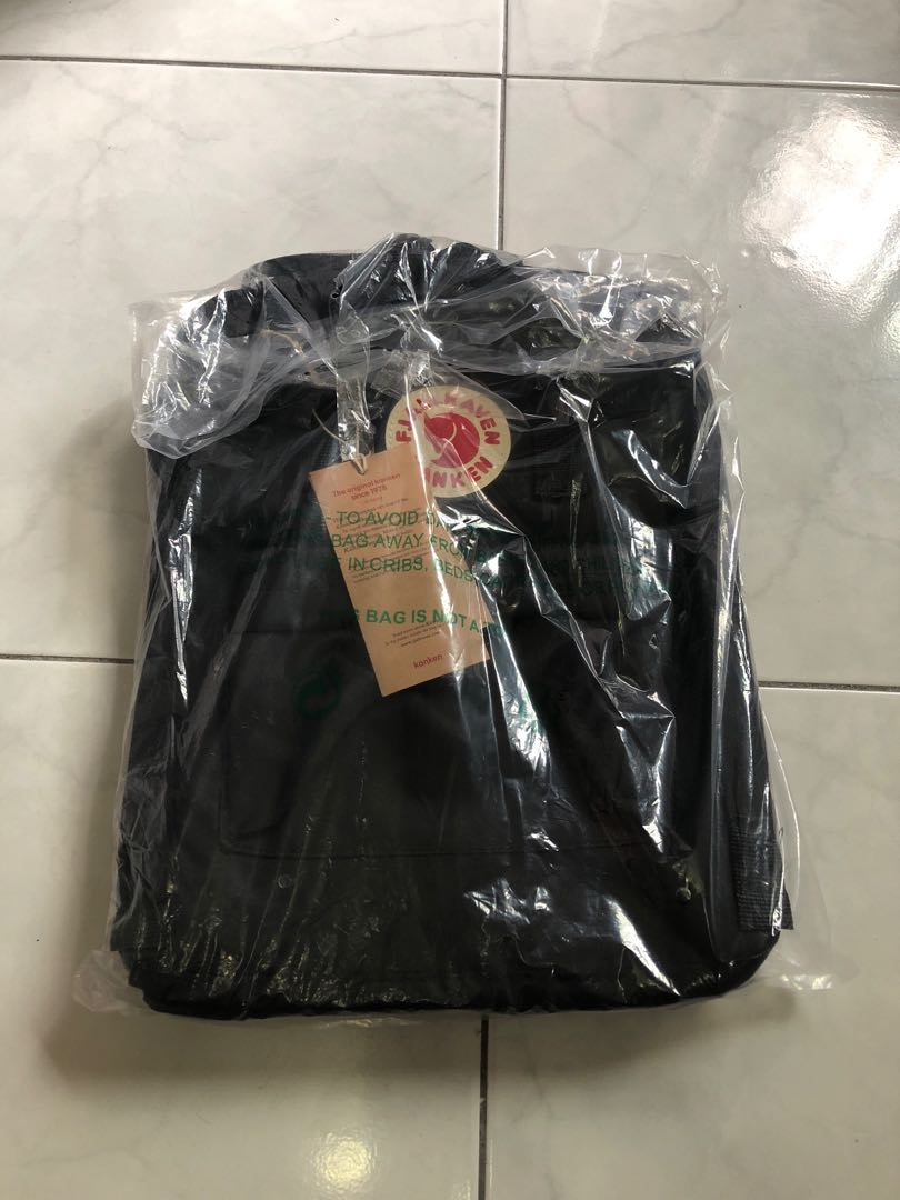 244a31b92 black kanken, Women's Fashion, Bags & Wallets, Backpacks on Carousell