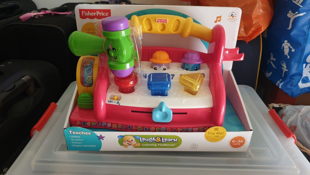 2afbcebfe3040 BN Fisher Price laugh and learn toolbench