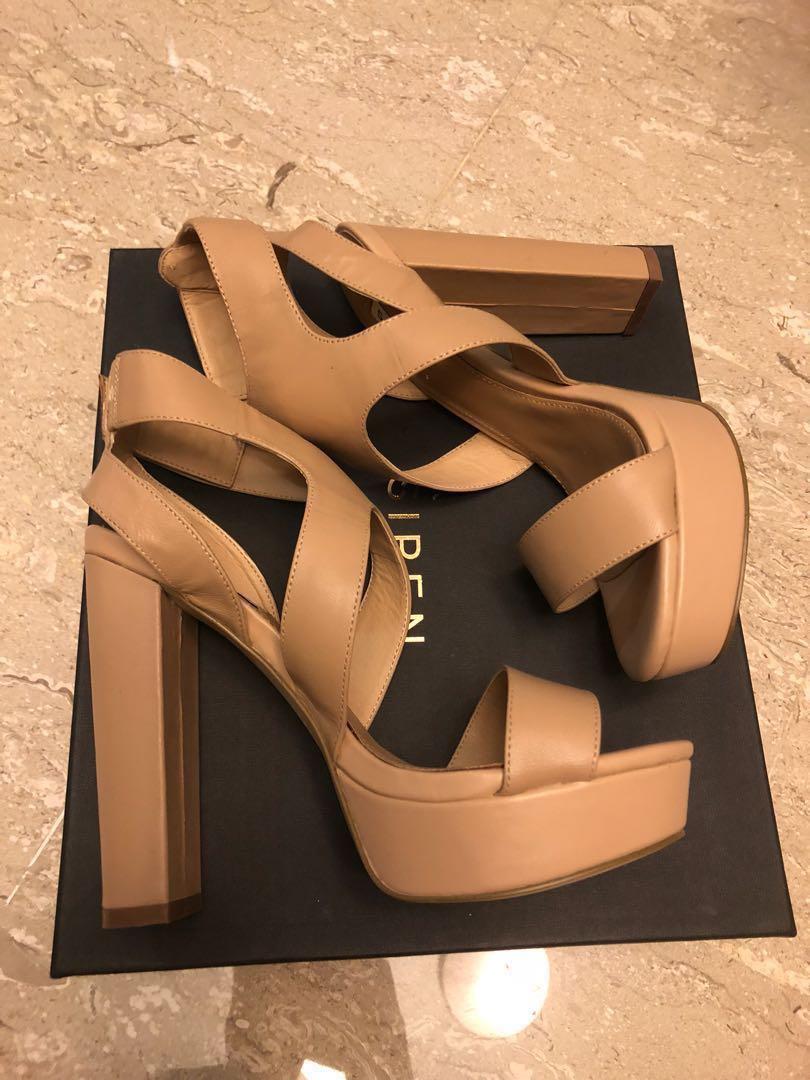 2814574019 BNIB Siren Nude Platform Heels, Women's Fashion, Shoes, Heels on ...