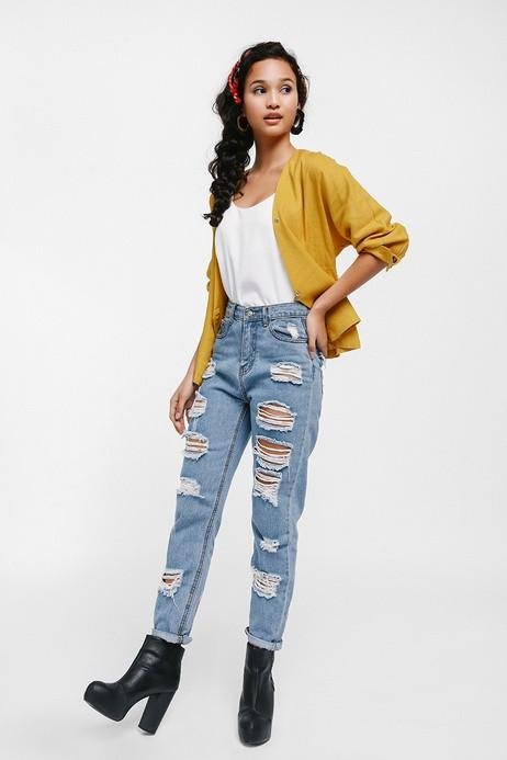 BNWT Love Bonito Teisberg Crossover Jacket Top  (mustard in size m)