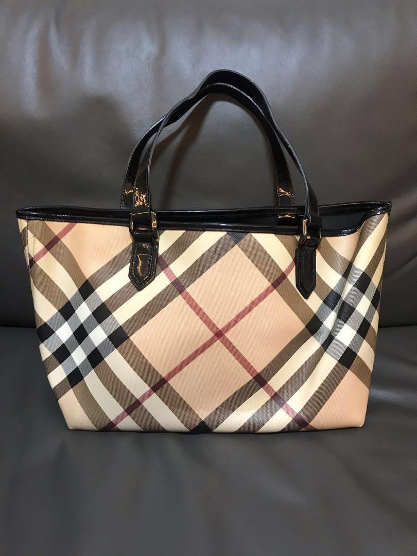 44271861f0e2 Burberry Nova SM Tote Bag