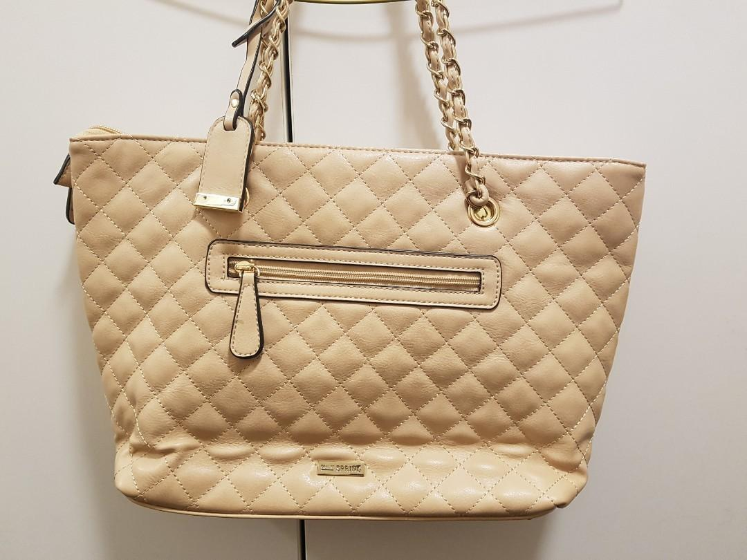 Call It Spring peach handbag