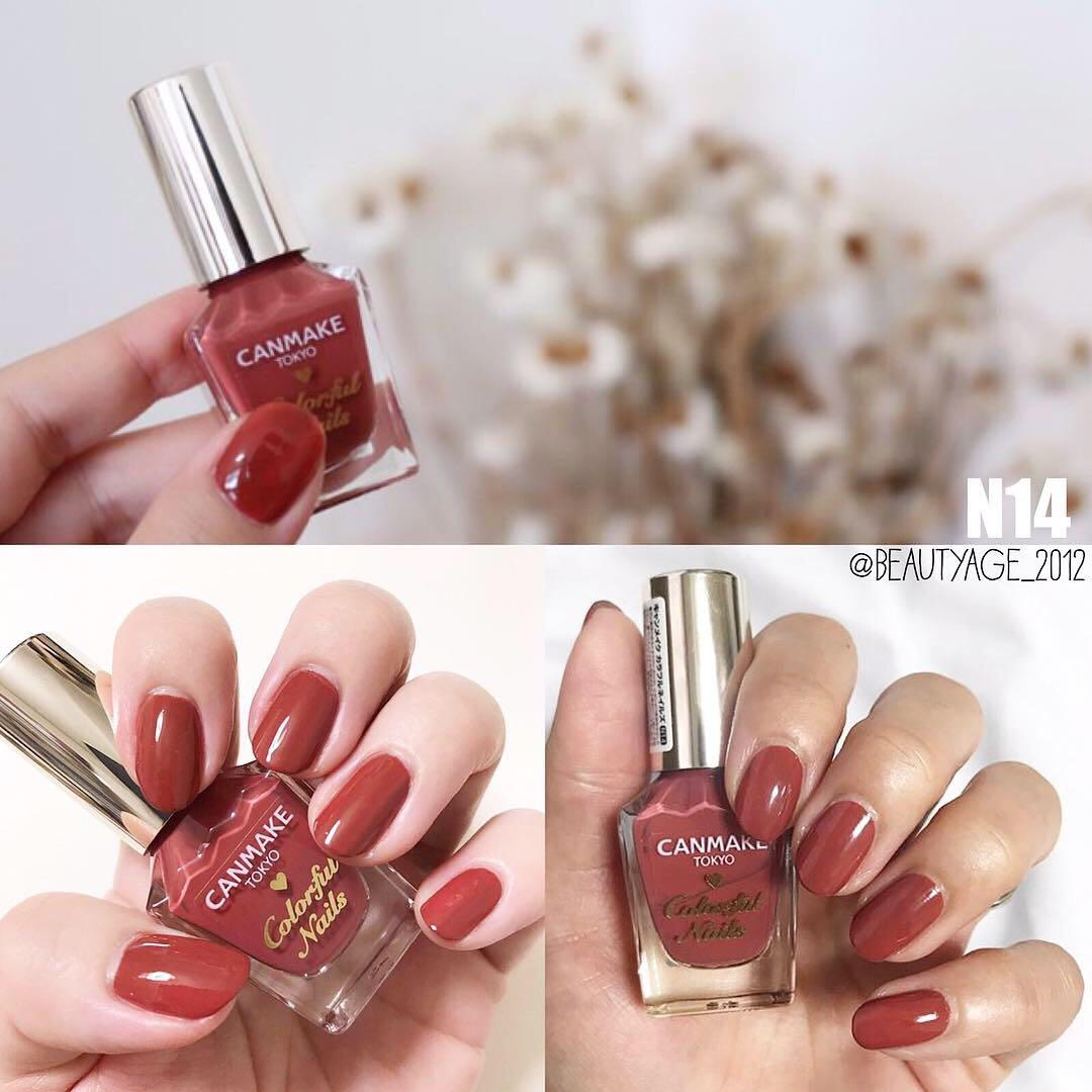 Canmake Colorful Nails, 美容&化妝品, 指甲美容, 香水& 其他- Carousell