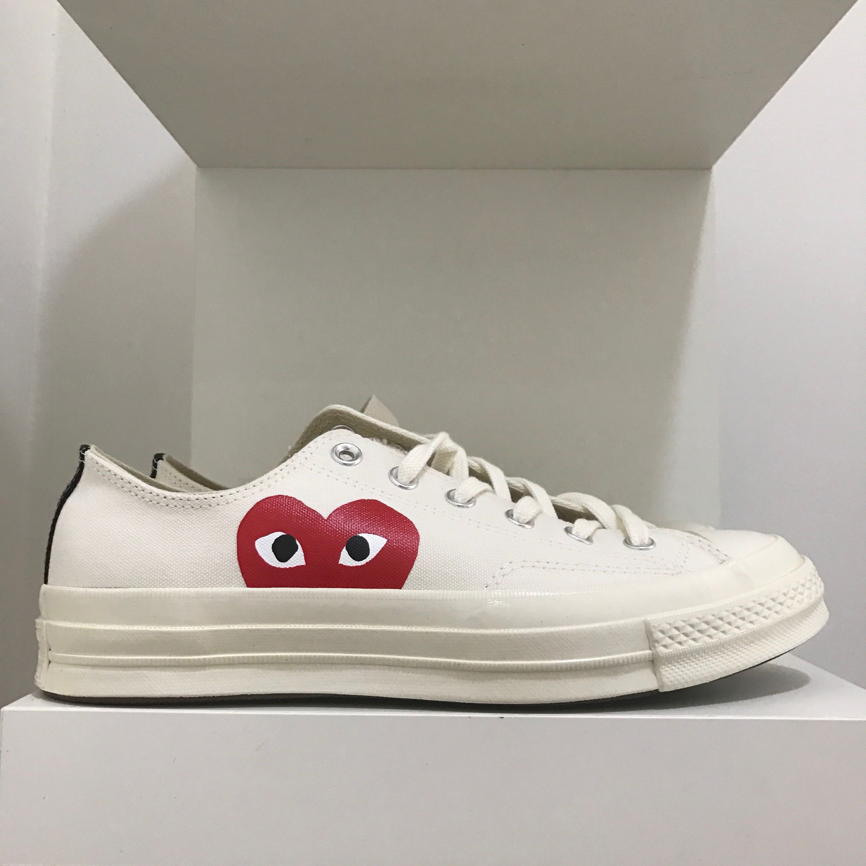 2cafd7b12811c0 Comme Des Garçons Play Converse Chuck Taylor All Star 70 Low