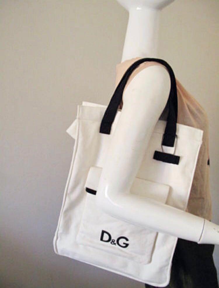 D&G dolce gabbana bag tote purse wallet pouch