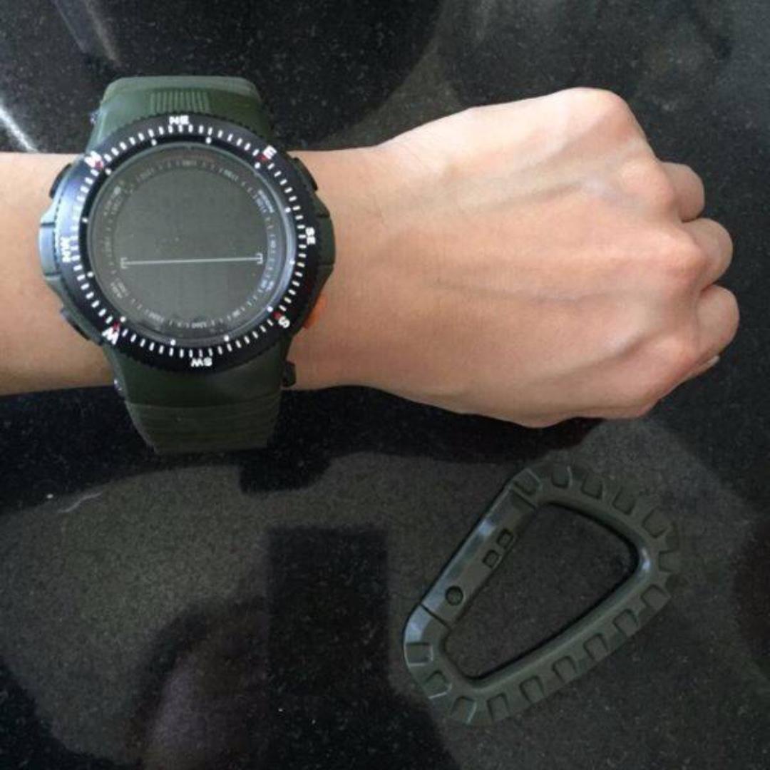 Driver Watch Rubber   Wrist Watch digital , stop watch , alarm and stopwatch