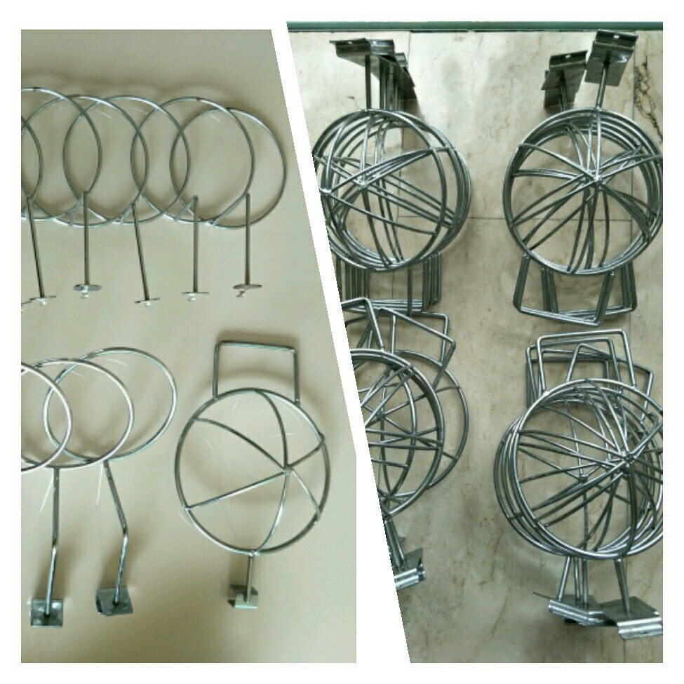 (G) Slotted / Hole /Square tube hat rack display