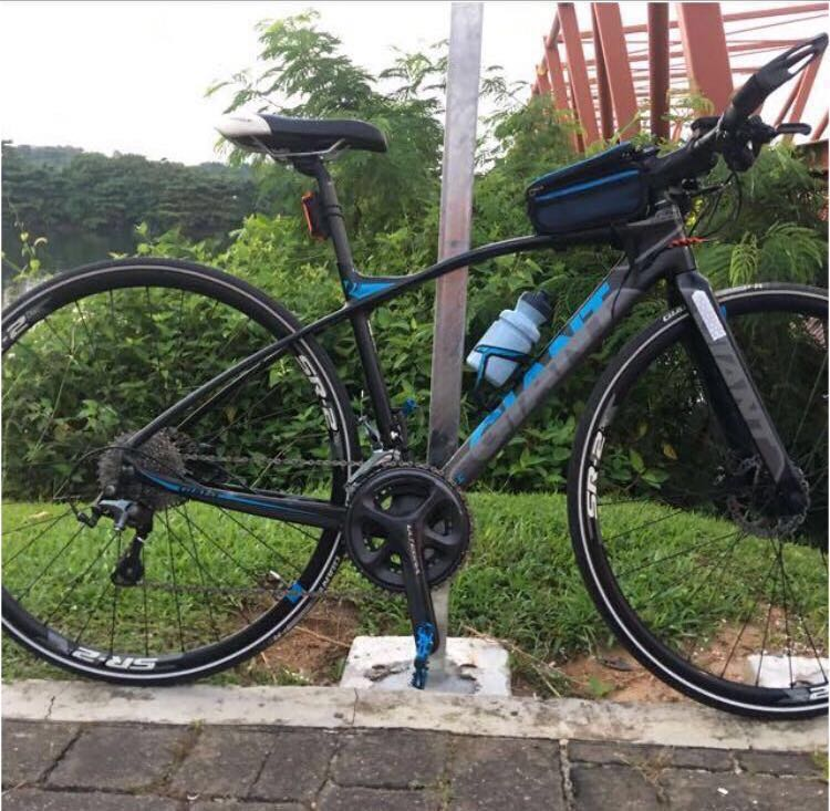 0f20a0ef39f Giant Fastroad Comax 2 (Full Carbon), Bicycles & PMDs, Bicycles, Road Bikes  on Carousell
