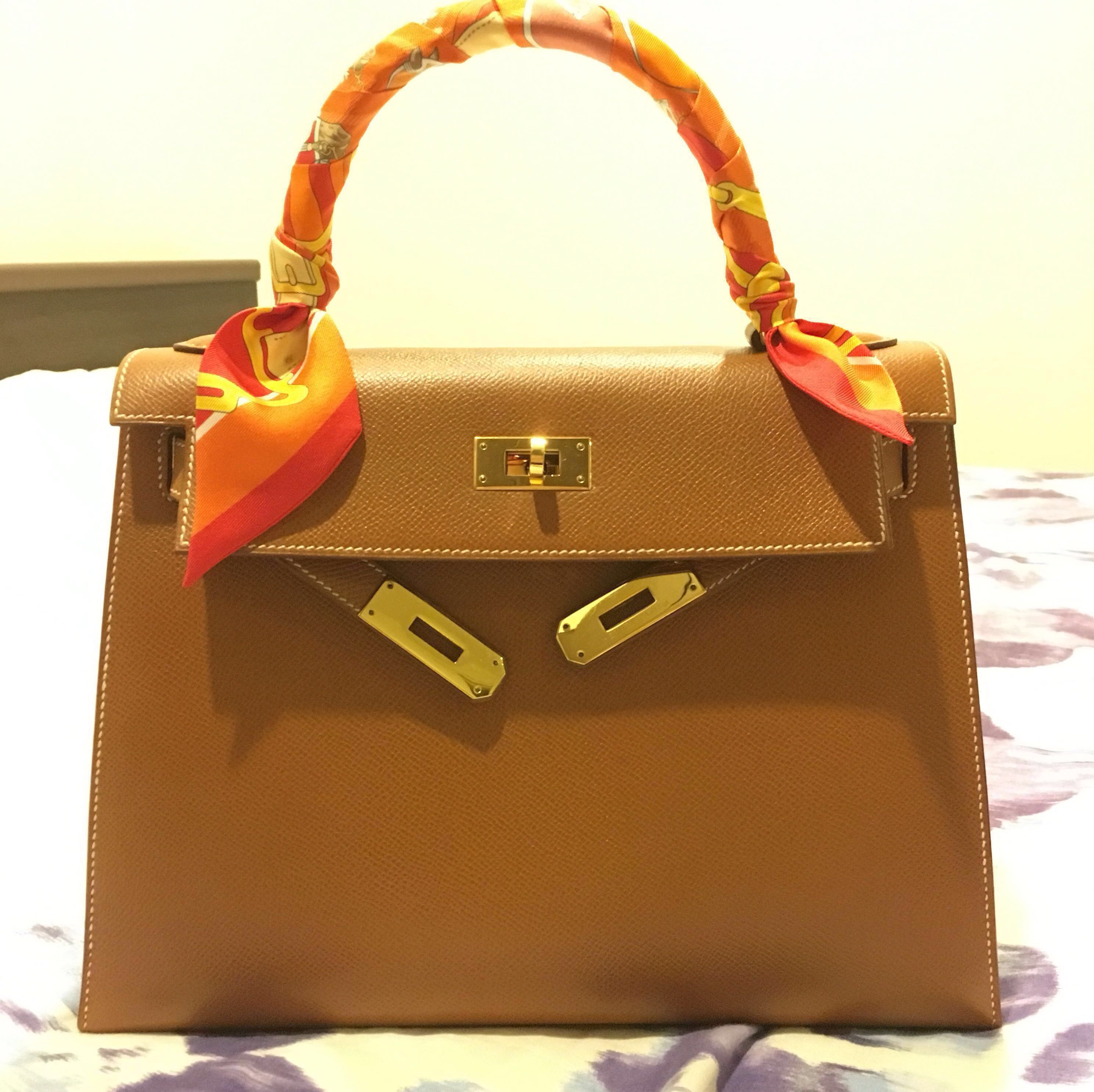 932e77a1dc0d Hermès Kelly 28 Gold Epsom Sellier