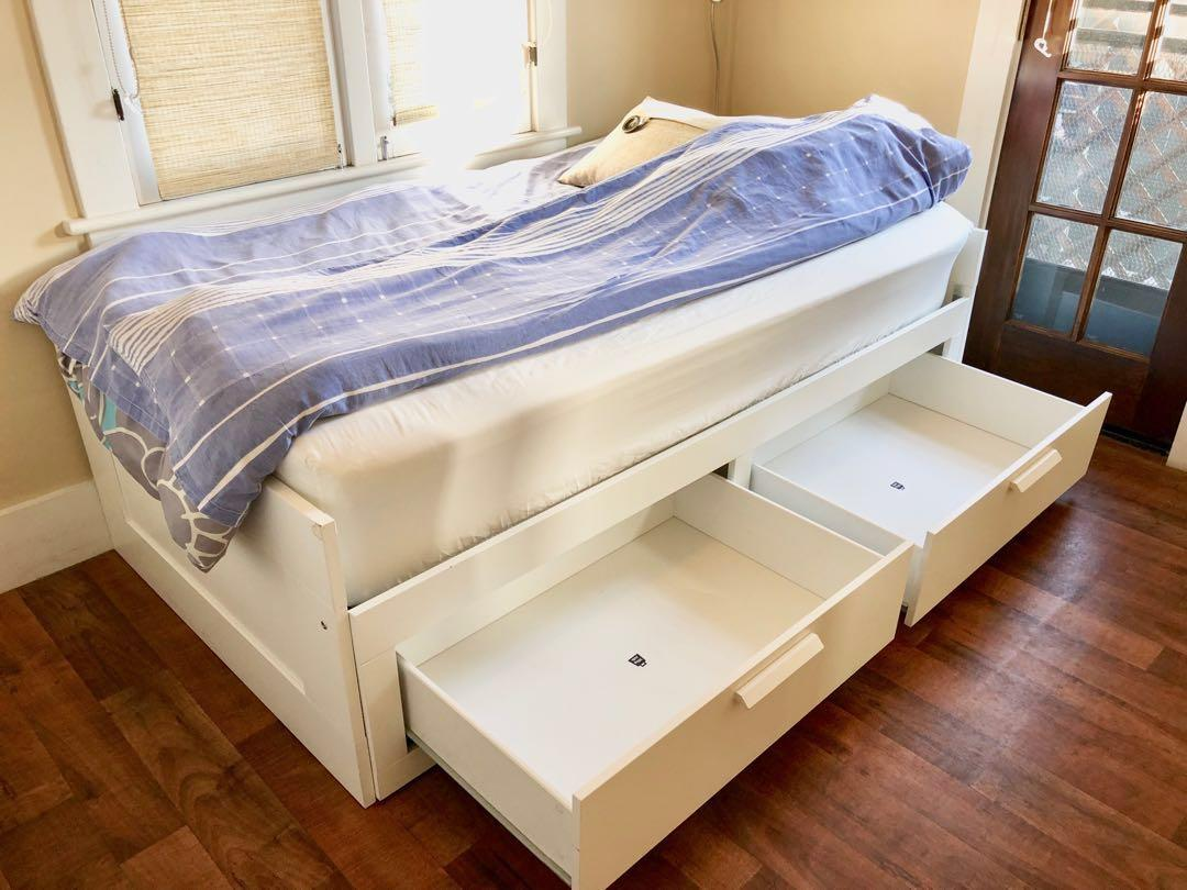 Ikea Brimnes Daybed Frame With 2