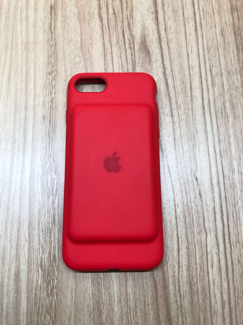 the latest 3901a 1b1f1 Iphone 7 Smart Battery Case - (PRODUCT) RED