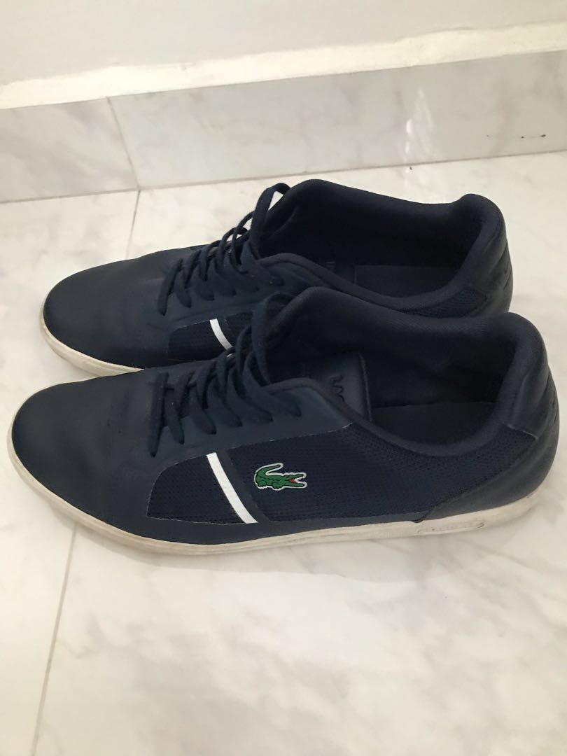 3fbffdb831a0 Lacoste Shoes Blue Dark Navy Strideur 116