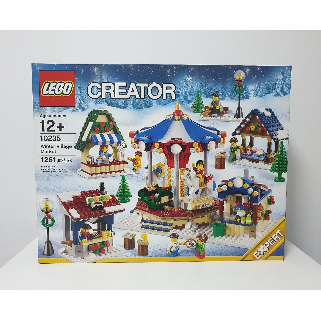 Lego Creator 10235 Winter Village Market New Sealed In Box