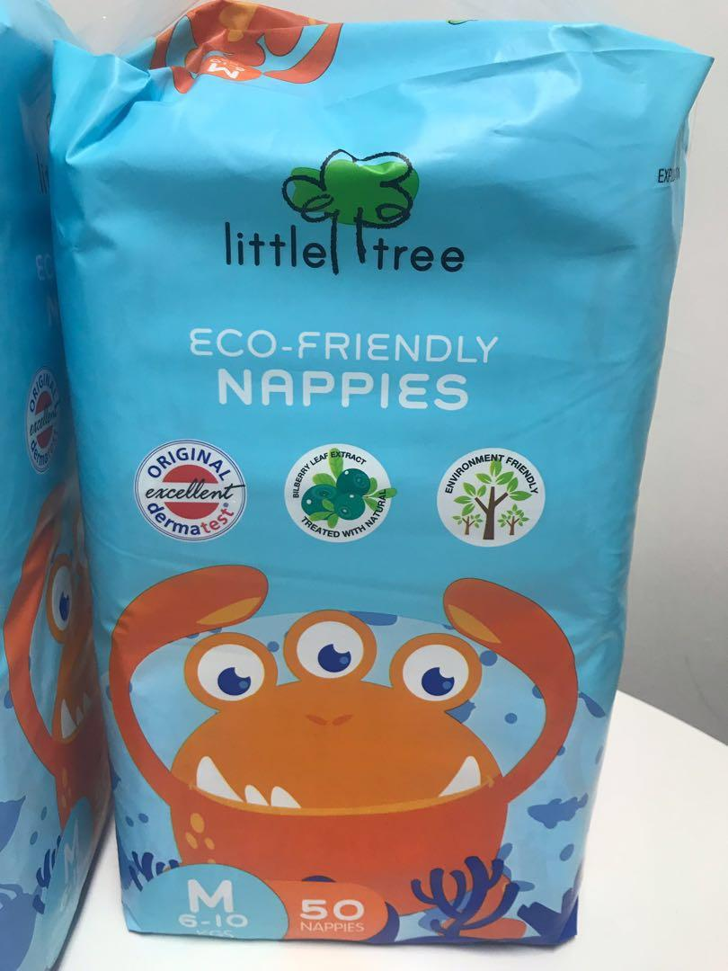 Little Tree eco-friendly nappies / disposable diapers