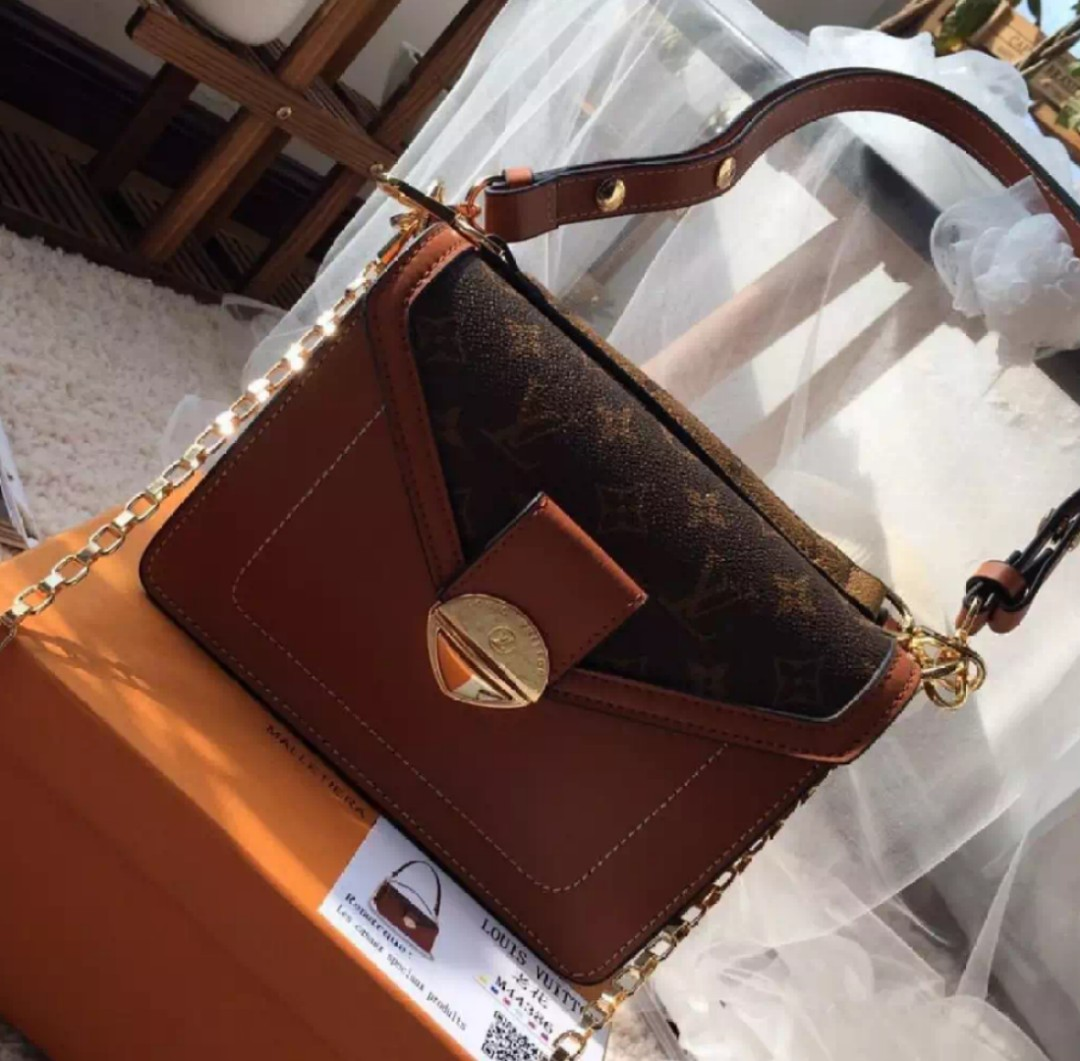 14a59586898f Louis Vuitton BIFACE Leather Should Bag with Sling