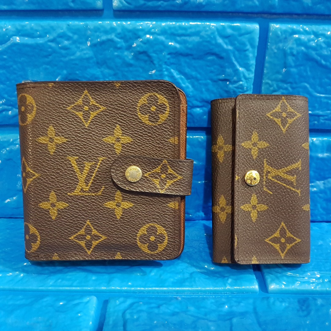 a61a493fb538 louis vuitton wallet and key holder for women