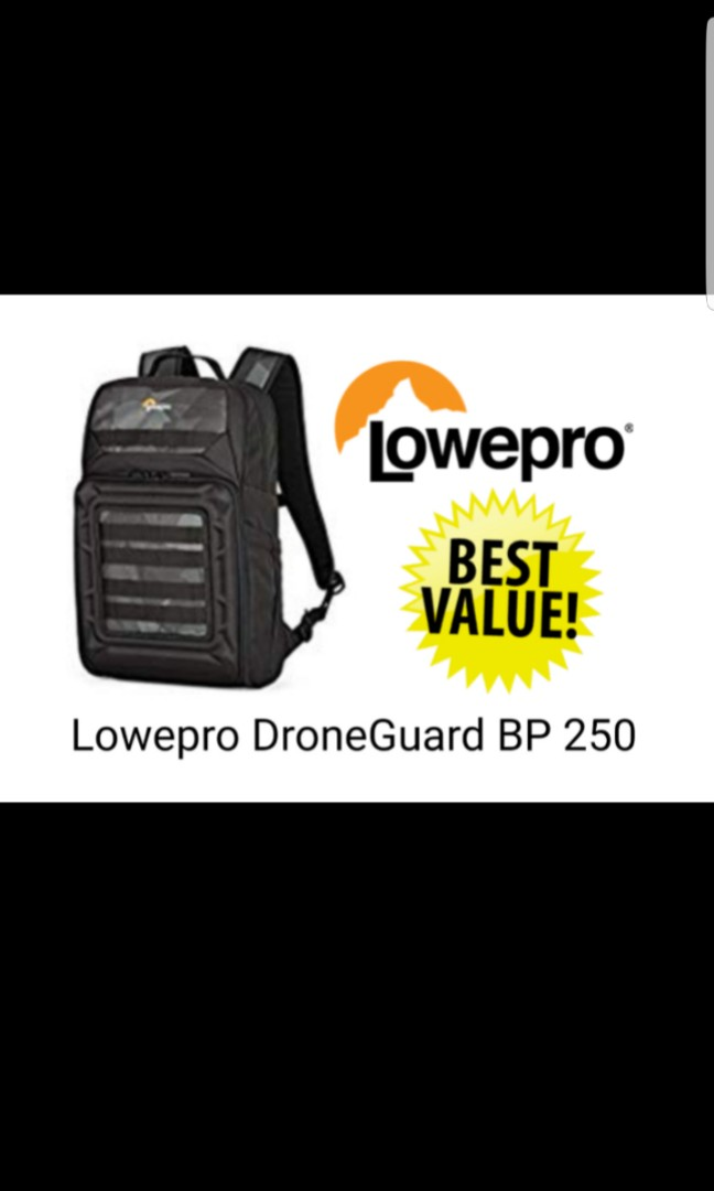 dd4f9a4ced1 Lowepro Droneguard BP 250, Photography, Camera Accessories, Camera ...