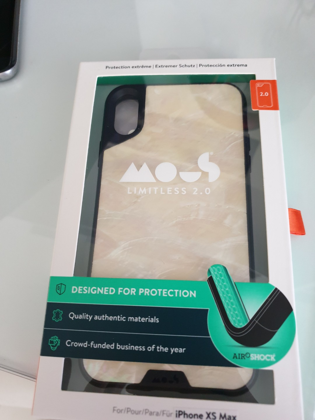 buy popular 97481 bfb54 Mous case iphone xs max