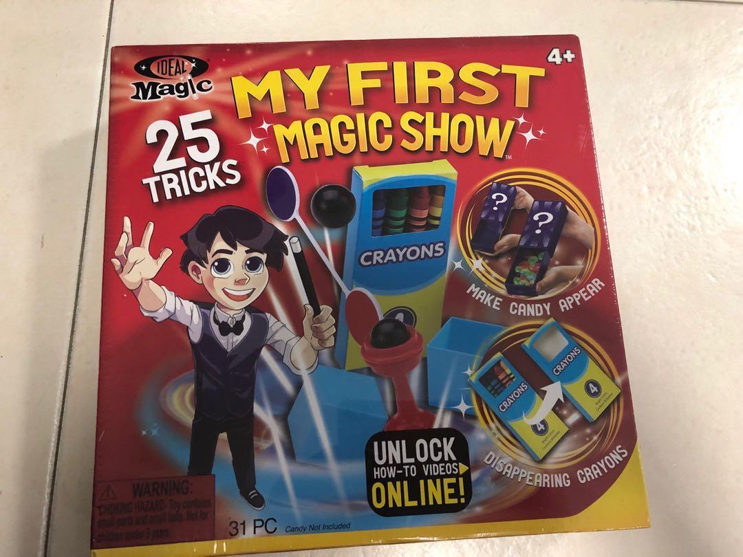 My first magic show