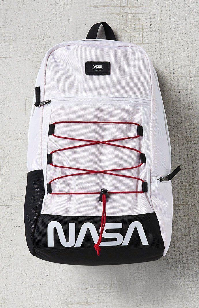 Nasa X Vans Backpack, Men's Fashion, Bags & Wallets, Backpacks on ...