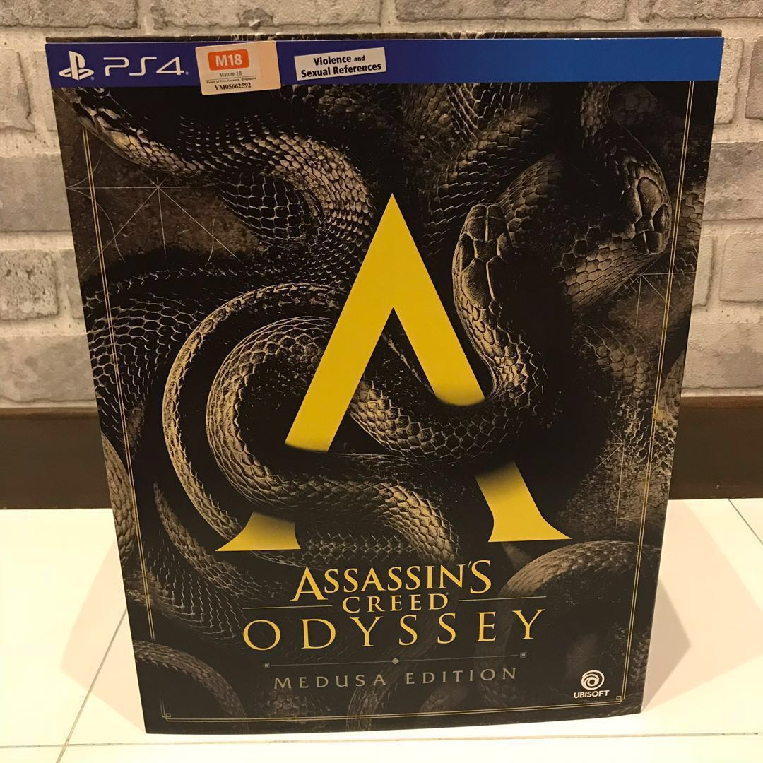 New Assassin S Creed Odyssey Medusa Edition Toys Games Video