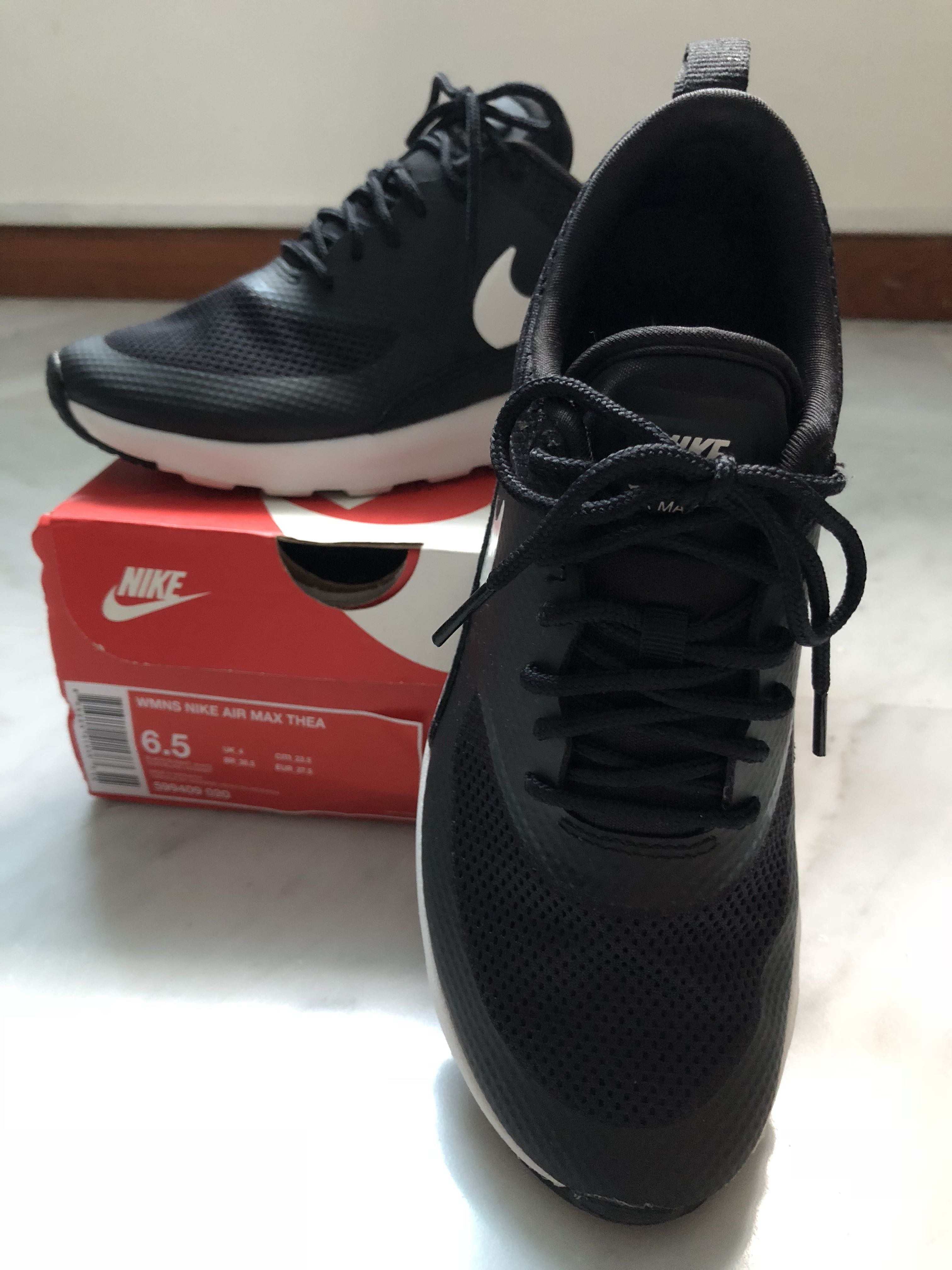 newest collection d138c 45a4d Nike Air Max Thea (Black US6.5   UK4), Women s Fashion, Shoes ...