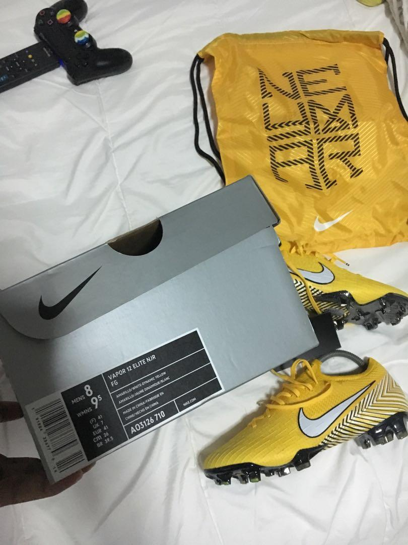 Incomparable medio distrito  Nike Mercurial Vapor 360 Elite Neymar Jr FG, Sports, Sports & Games  Equipment on Carousell
