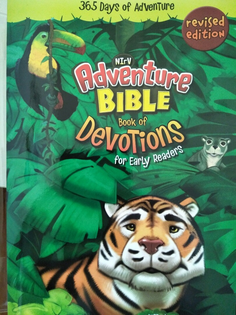 Nirv Adventure Bible book of Devotions for early readers, Books &  Stationery, Children's Books on Carousell