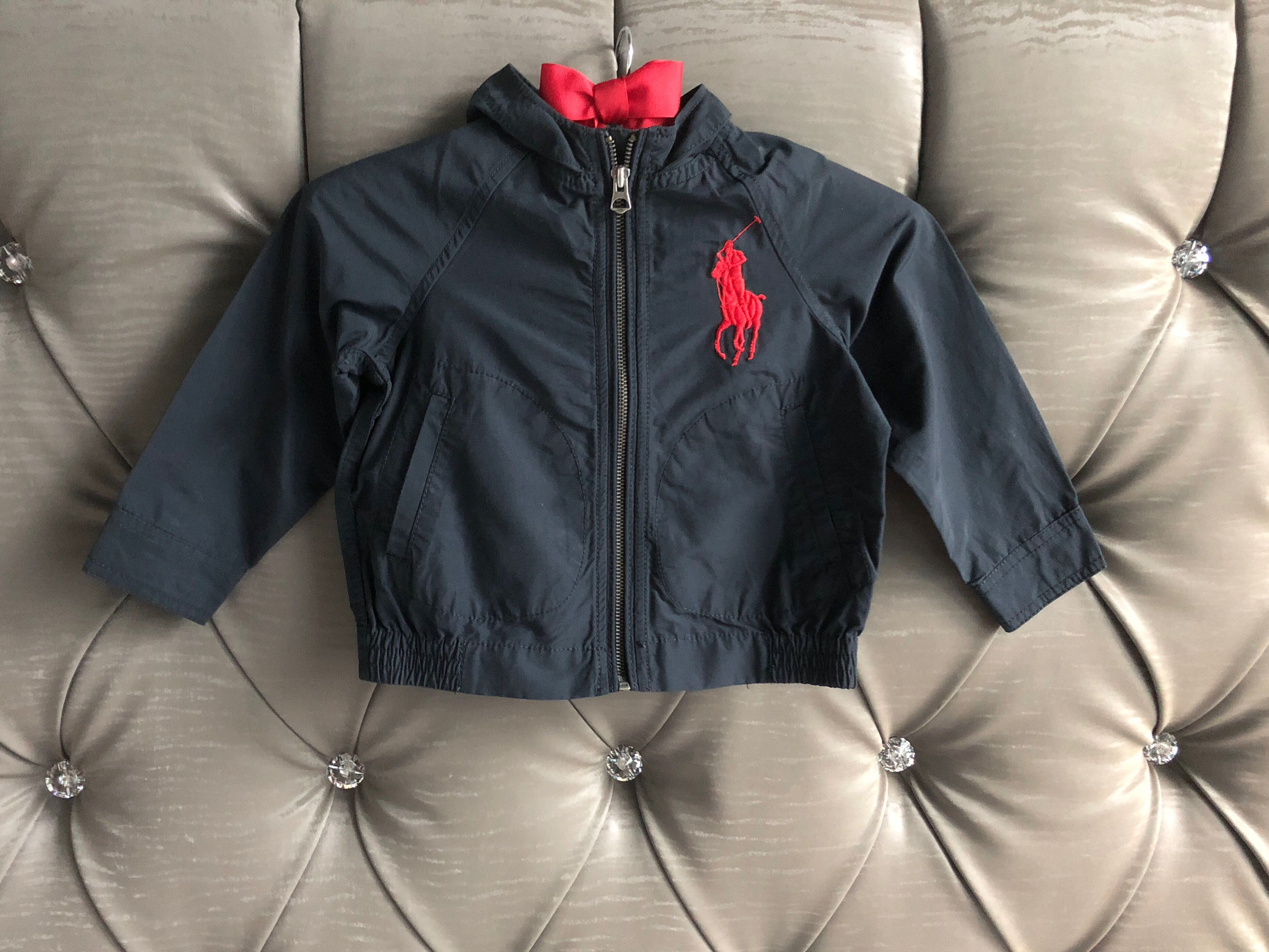 d59be82ff300a Preloved Polo Ralph Lauren 2T Hooded Jacket Windbreaker for Toddler ...