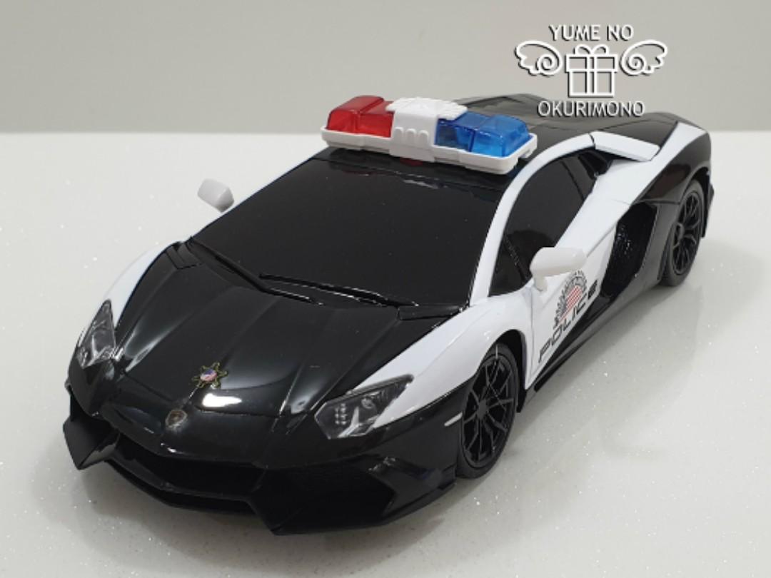 Radio Control Lamborghini Aventador Patrol Car Usa Toys Games