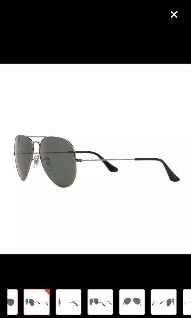 Rayban Aviator Sunglasses Black authentic