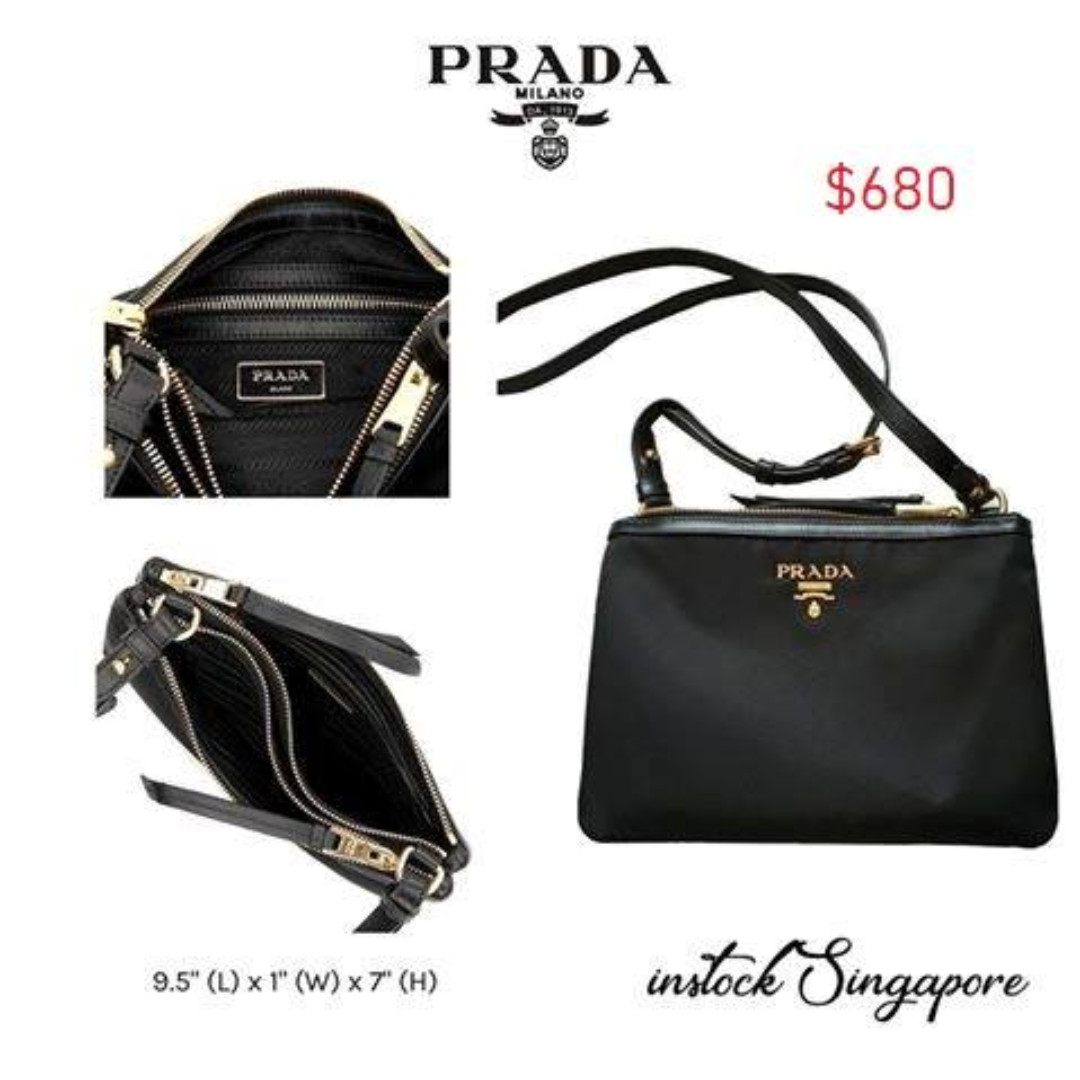 83abc2315c56 READY STOCK authentic new Prada Prada Women's Over The Shoulder ...